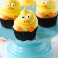 Spring Chick Cupcakes Recipe