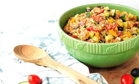 Easy Greek Quinoa Salad Recipe