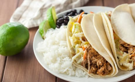 Gluten Free Pulled Pork with Green Chile Slaw Recipe