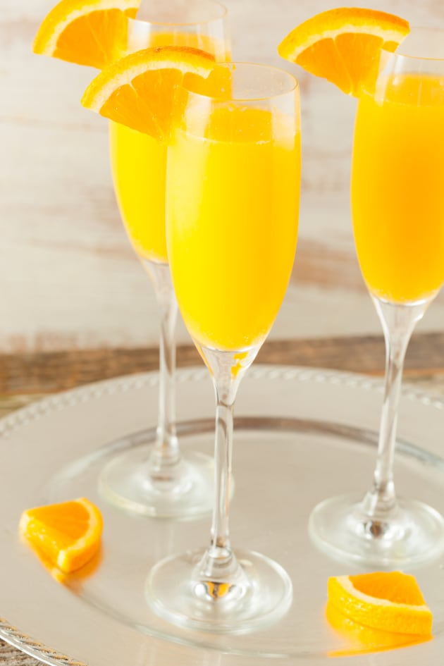 Mimosa Cocktail Pic