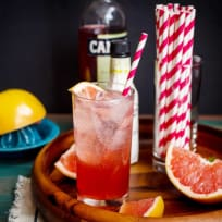 Blushing Grapefruit Collins Recipe