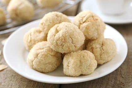 Gluten Free Cardamom Cookies