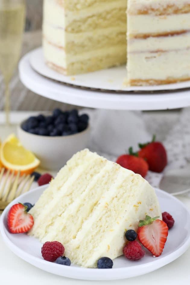 Mimosa Cake Pic