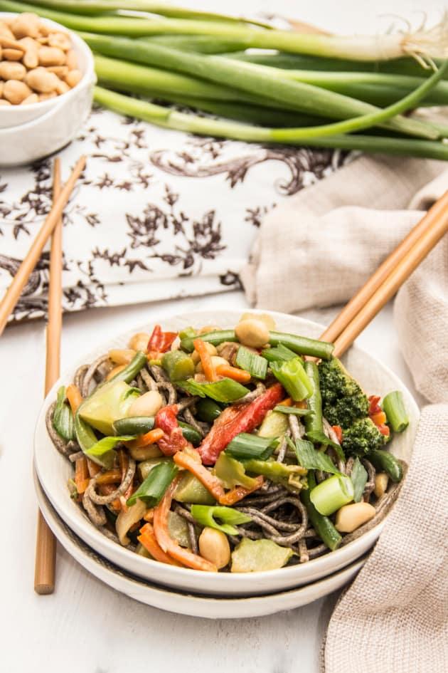 Soba Noodle Stir Fry Picture