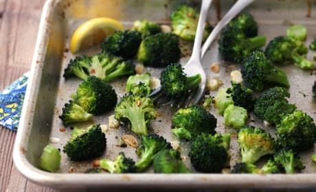 Toaster Oven Roasted Broccoli Recipe