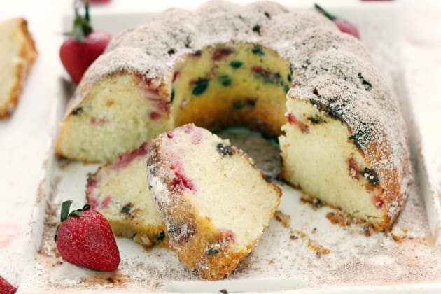Strawberry Bundt Cake Photo