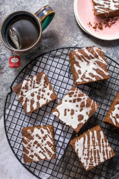 Spiked Gingerbread Bars Image