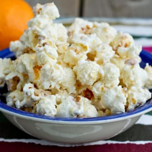 Orange creamsicle popcorn photo