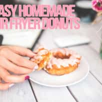 Delicious Glazed Air Fryer Donuts