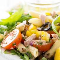 Mediterranean Tuna Pasta Salad Recipe