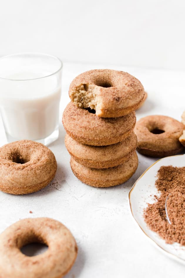 Baked Churro Doughnuts Picture