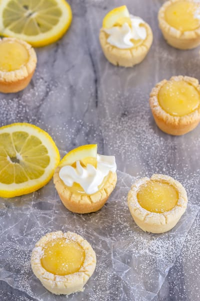 Lemon Sugar Cookie Cups Picture