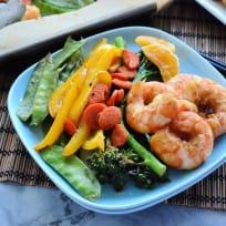 Sheet Pan Shrimp Stir-Fry Recipe