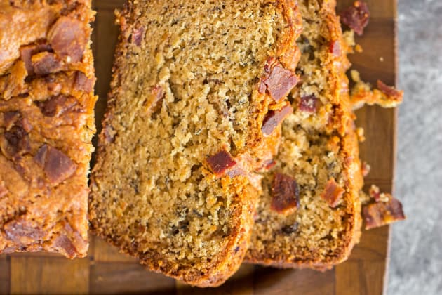 Bacon Peanut Butter Banana Bread Photo