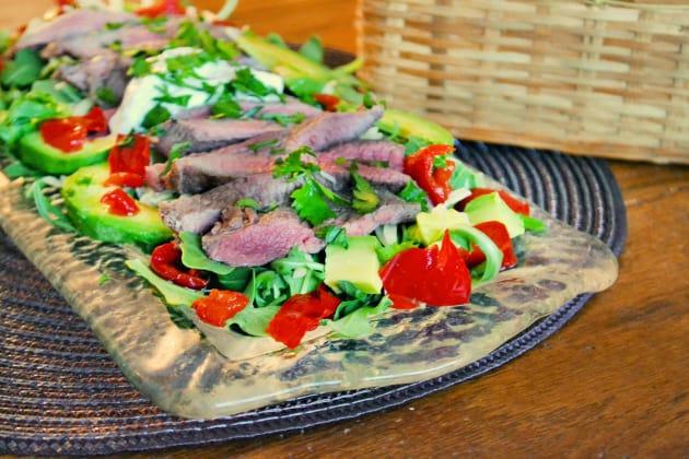 Carne Asada Salad Photo