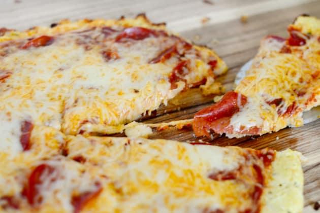 Cauliflower Crust Pizza Photo