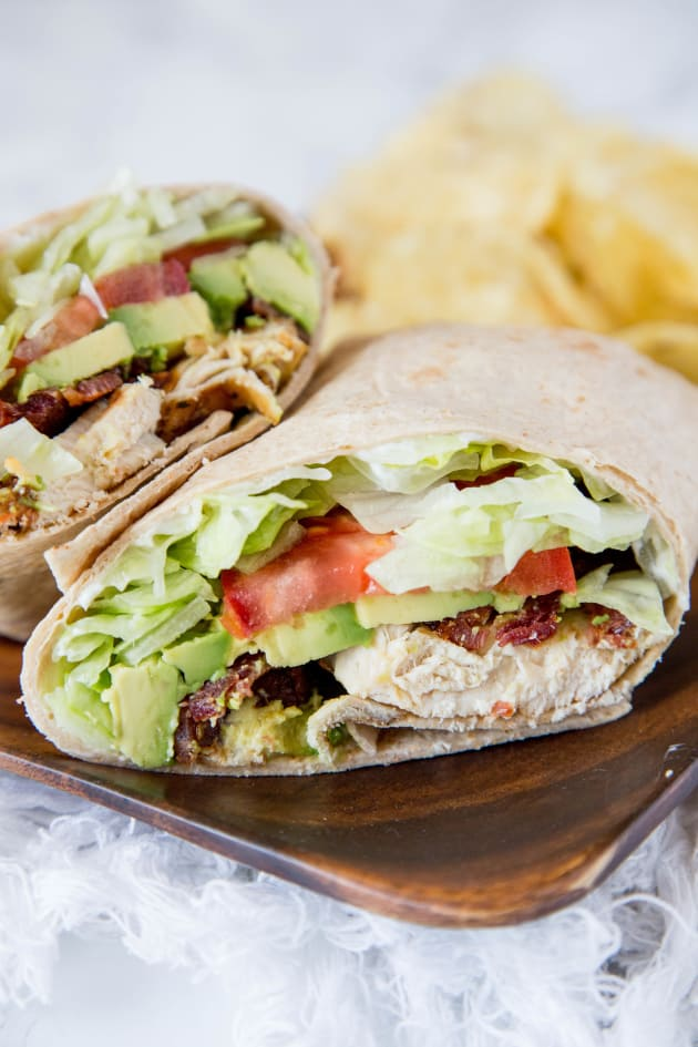 Chicken Club Wrap Picture
