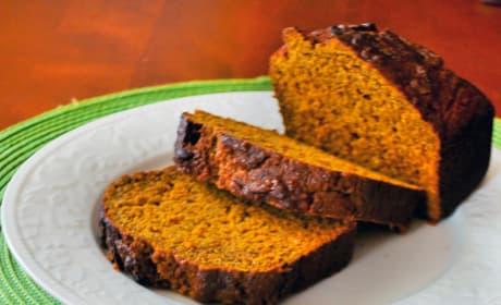 Healthy Pumpkin Bread Picture