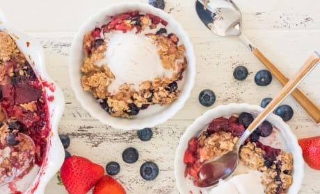 Gluten Free Berry Crisp Image