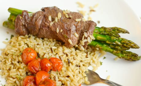 Steak Wrapped Asparagus Recipe
