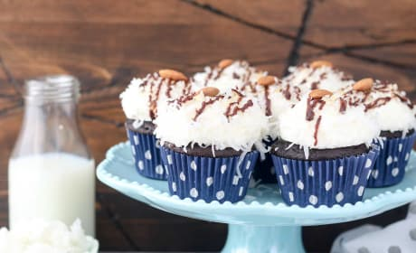 Almond Joy Cupcakes Photo