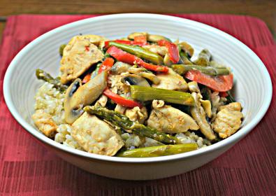 Ponzu Chicken Stir Fry: An Asian Sensation
