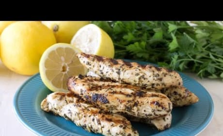 How to Make Quick Grilled Lemon Chicken Tenders