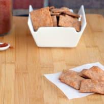 Homemade Wheat Thins Recipe