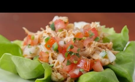 How to Chipotle Chicken Lettuce Cups