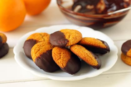 Gluten Free Chocolate Orange Cookies: Packed with Orange Flavor