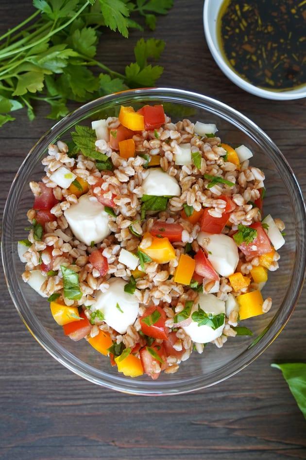 Italian Farro Salad Picture