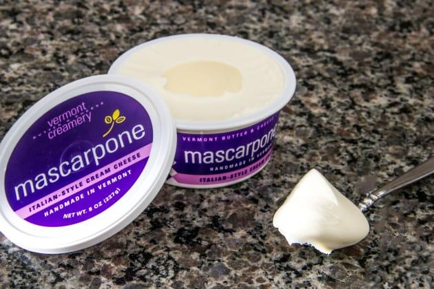 Mascarpone Cheese Container Photo
