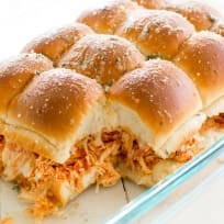 Slow Cooker Chicken Parmesan Sliders Recipe