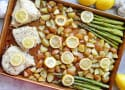 Lemon Chicken Asparagus Sheet Pan Dinner