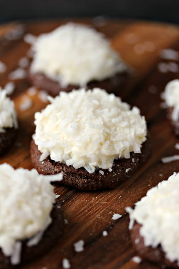 Chocolate Coconut Cookies Image