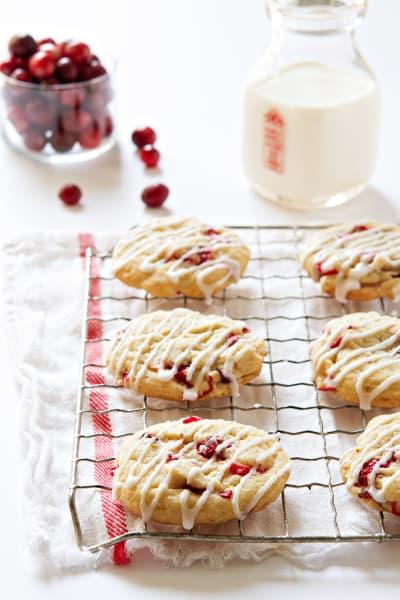 Orange Cranberry Cookies Picture