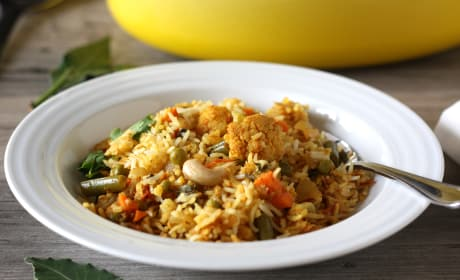 Vegetable Biryani Photo