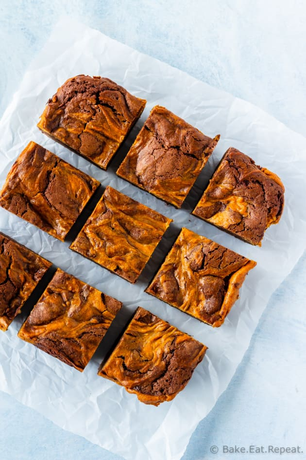 Pumpkin Cheesecake Brownies Picture