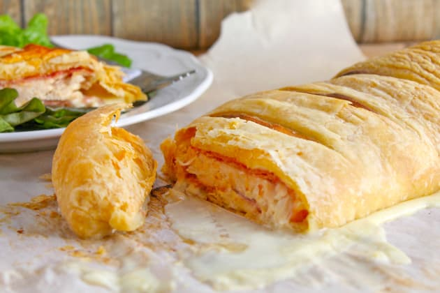Puff Pastry Chicken Cordon Bleu Image
