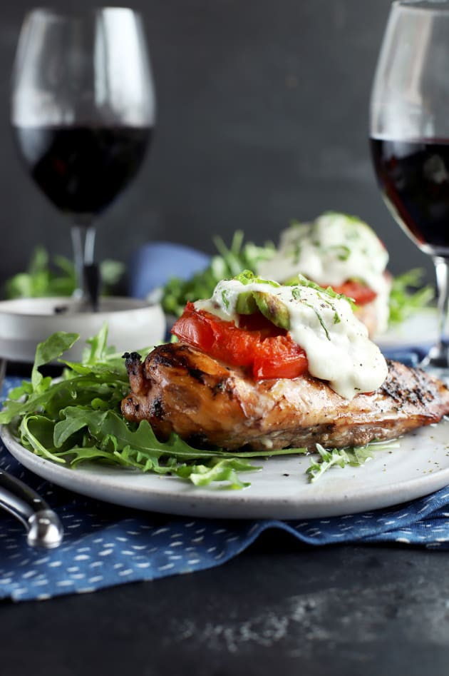 Grilled Caprese Avocado Chicken Image