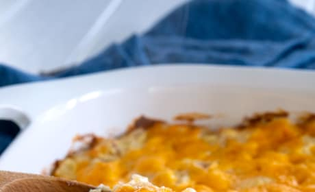 Cheesy Hashbrown Potato Casserole Image