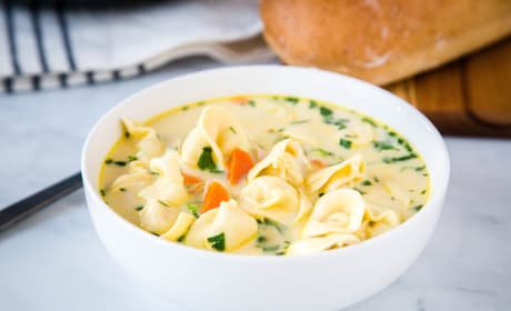 Creamy Chicken Tortellini Soup Recipe