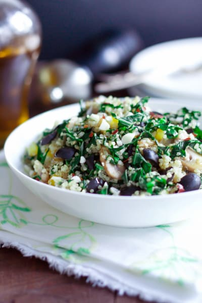 Kalamata Collard Quinoa Salad Picture