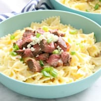 Steak Gorgonzola Pasta Recipe