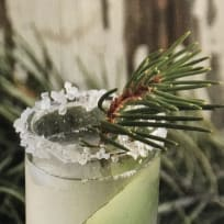 3-Ingredient Unripe Pinecone Soda
