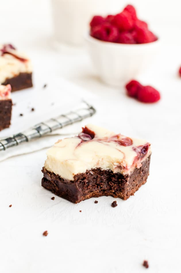 Raspberry Cheesecake Brownies Image