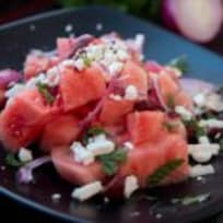Watermelon & Olive Salad