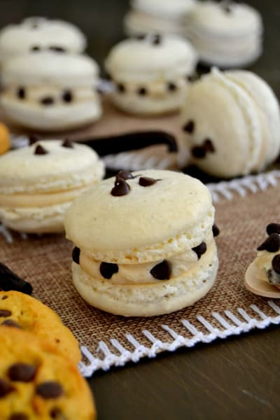 Cookie Dough Macarons Image