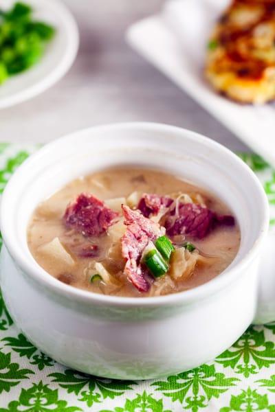 Reuben Soup Pic
