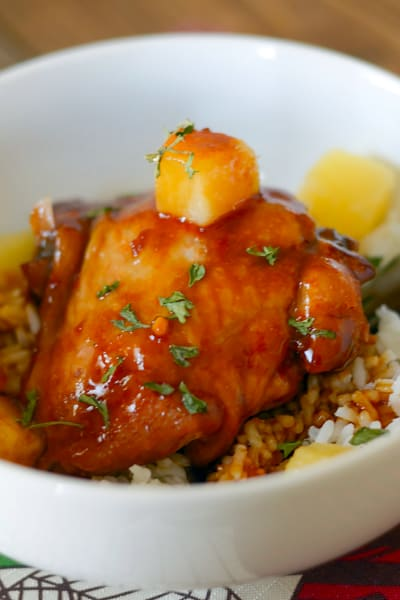 Honey Ginger Chicken Picture